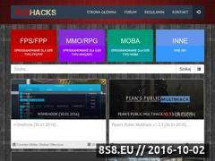 Miniaturka redhacks.pl (Oprogramowanie dla gier online)