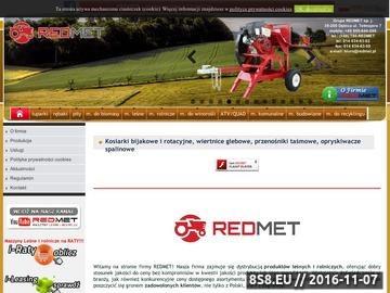 Zrzut strony Redmet - łuparki, rębaki, maszyny