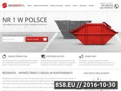 Miniaturka domeny www.redskip.pl