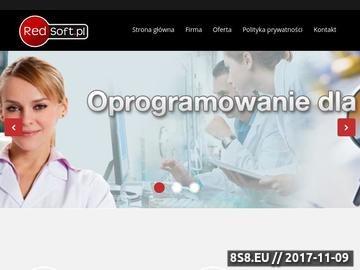 Zrzut strony Bazy danych na indywidualne zamówienie Opole Redsoft.pl
