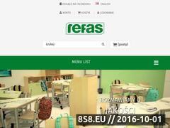 Miniaturka domeny www.refas.pl