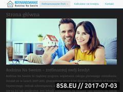 Miniaturka refinansowanie-rodzina-na-swoim.pl (Refinansowanie kredytu Rodzina Na Swoim)