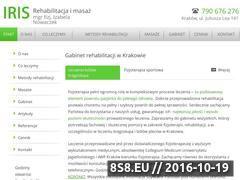 Miniaturka domeny rehabilitacja-iris.pl