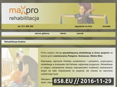 Miniaturka domeny www.rehabilitacja-maxpro.pl