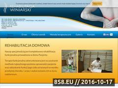 Miniaturka domeny www.rehabilitacja-winiarski.pl