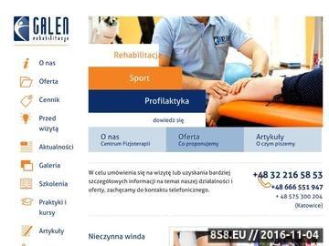 Zrzut strony Masaż Katowice, rehabilitacja dzieci oraz trening funkcjonalny