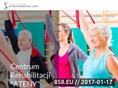Miniaturka domeny www.rehabilitacjaateny.pl