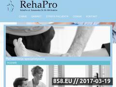 Miniaturka rehapro.com.pl (Terapia manualna i rehabilitacja kręgosłupa)