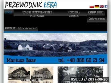 Zrzut strony Przewodnik turystyczny Łeba i okolice