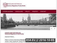 Miniaturka domeny www.rejent.wroclaw.pl