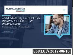 Miniaturka rejestracja-spolek-warszawa.pl (Rejestracja spółek Warszawa)