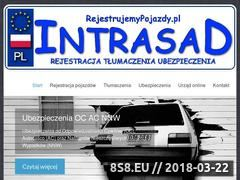 Miniaturka www.rejestrujemypojazdy.pl (Tłumaczenia przysięgłe i rejestrację pojazdów)