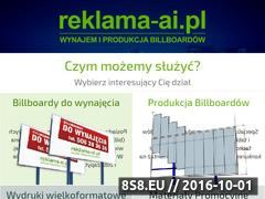 Miniaturka domeny www.reklama-ai.pl