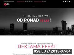 Miniaturka reklama-efekt.pl (Szyldy reklamowe - Agencja Reklama Efekt z Rzeszowa)