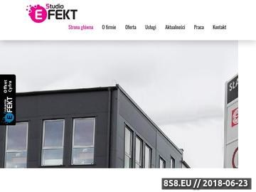 Zrzut strony Reklama świetlna - Agencja Reklama Efekt z Rzeszowa