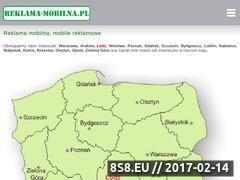 Miniaturka domeny www.reklama-mobilna.pl