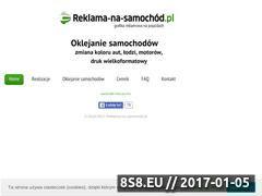 Miniaturka domeny reklama-na-samochod.pl