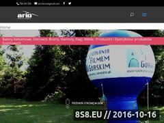 Miniaturka domeny www.reklamalatajaca.pl