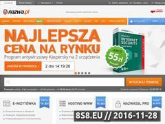 Miniaturka domeny www.reklamatelewizyjna.com.pl