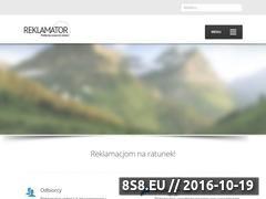 Miniaturka domeny reklamator.com.pl