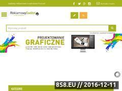 Miniaturka domeny reklamowygadzet.pl