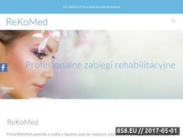 Zrzut strony Peeling medyczny Łódź