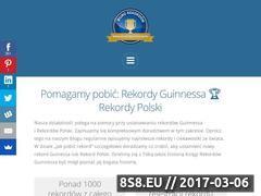 Miniaturka domeny rekordyguinessa.pl