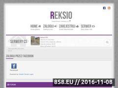 Miniaturka domeny www.reksio-cs.pl