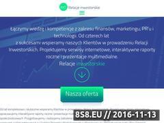 Miniaturka domeny www.relacjeinwestorskie.eu