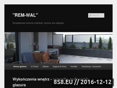 Miniaturka domeny rem-wal.pl