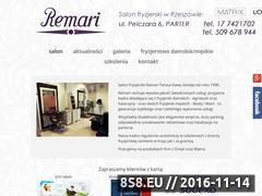 Miniaturka domeny www.remari.pl
