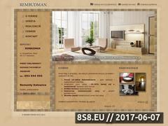 Miniaturka domeny rembudman.pl
