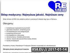 Miniaturka remed24.eu (Sklep medyczny)