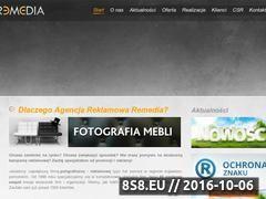Miniaturka domeny www.remedia.pl