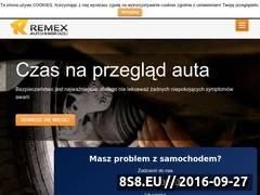 Miniaturka remex.auto.pl (Strona internetowa serwisu samochodowego)