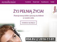 Miniaturka domeny www.remifemin.pl