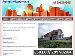 Miniaturka domeny www.remonty-bajda.strefa.pl