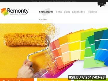 Zrzut strony Remont Wrocław