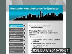 Miniaturka domeny www.remontymieszkan20.republika.pl