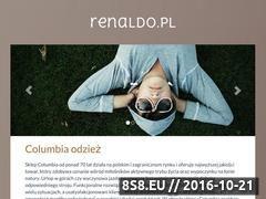 Miniaturka domeny www.renaldo.pl