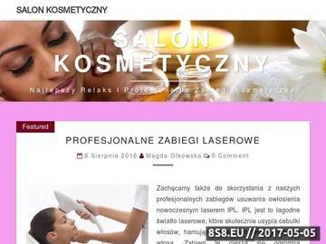 Zrzut strony Salon urody Poznań - makijaż permanentny, masaże, kosmetyka, SPA Poznań