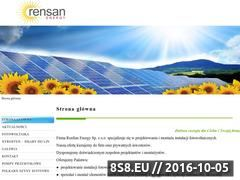 Miniaturka domeny rensanenergy.pl