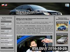 Miniaturka domeny www.rentacarpl.com
