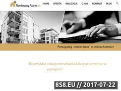 Miniaturka rentownyadres.pl (Home staging)