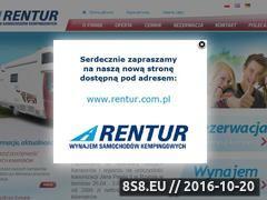 Miniaturka domeny www.rentur.pl