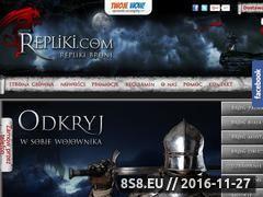Miniaturka domeny www.repliki.com