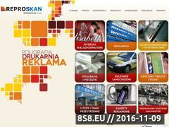 Miniaturka domeny reproskan.pl
