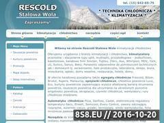 Miniaturka www.rescold-stalowawola.pl (Klimatyzacja <strong>stalowa wola</strong> Rescold)
