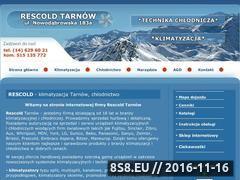 Miniaturka domeny www.rescold-tarnow.pl