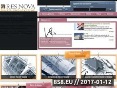 Miniaturka domeny www.resnova.pl